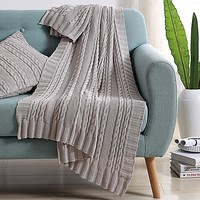 Abode Dublin Knit Throw