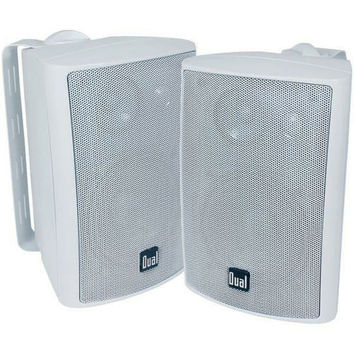 "Dual LU43PW 4"" 3-Way Indoor / Outdoor Loudspeakers (pr.)"