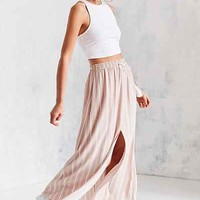 Ecote Tassel Tie Maxi Skirt - Urban Outfitters