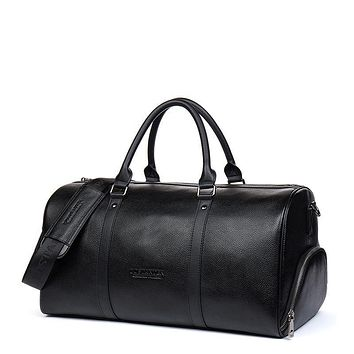 Genuine Leather Large Travel Duffel Bags