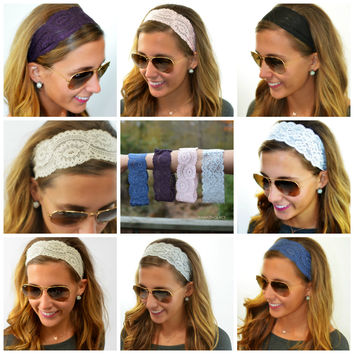 All About That Lace Headbands
