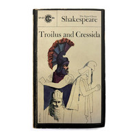 """Milton Glaser paperback book cover design, 1963. """"Troilus and Cressida"""" by William Shakespeare"""
