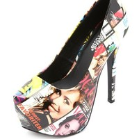 SUPERMODEL PHOTO PRINT PLATFORM PUMPS
