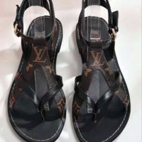 【Louis Vuitton】LV Flatbed sandals