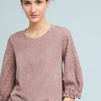 Carrie Eyelet Top