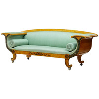 19th Century Swedish Birch Neoclassical Sofa