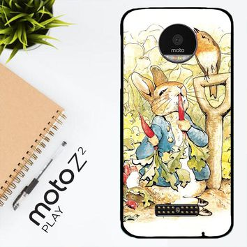 Beatrix Potter Peter Rabbit V1584 Motorola Moto Z2 Play Case