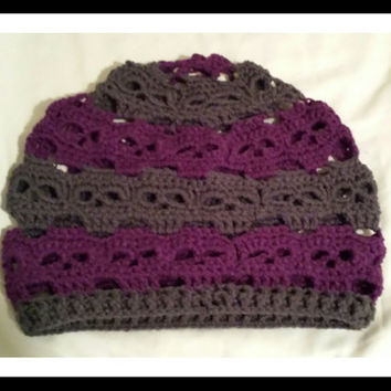 Adult Skulls Beanie Hat Pick Your Color(s). Crochet. Handmade. No Wool. Accessories.