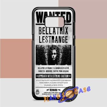 Bellatrix Lestrange Wanted Harry Potter Movies Samsung Galaxy Case