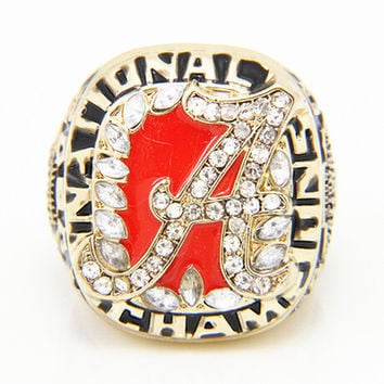 NCAA 2009 Alabama Crimson Tide Championship Rings Replica Drop Shipping BC2918