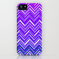 Indigo Illusion iPhone Case by Ally Coxon | Society6