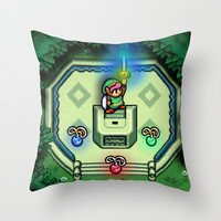 Link Master Sword Throw Pillow by likelikes | Society6