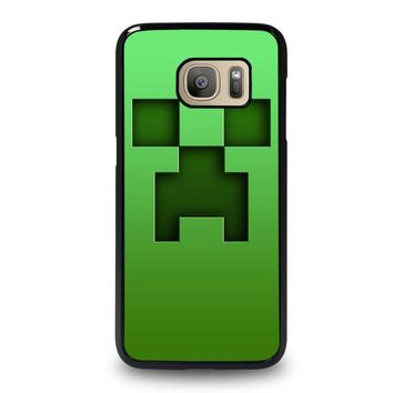 CREEPER MINECRAFT Samsung Galaxy S7 Case Cover