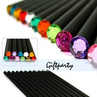 (12Pcs/Set) Pencil Hb Diamond Color Pencil Stationery Items Drawing Supplies