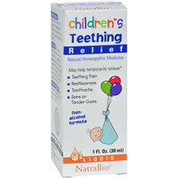 Natrabio Children's Teething Relief Drops - 1 Fl Oz