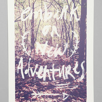 Urban Outfitters - Kelli Murray For Society6 New Adventures Art Print