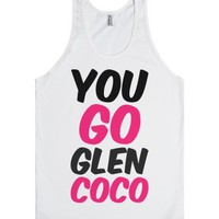 YOU GO GLEN COCO Tank-Unisex White Tank