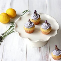 Yummy Mummy: Lemon Filled Lavender Cupcakes