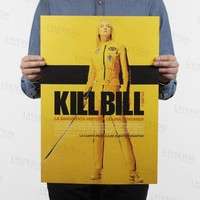 Kill Bill Vol.1/classic Quentin movie film/kraft paper/Cafe/bar poster/Retro Poster/decorative painting 51x35.5cm Free shipping