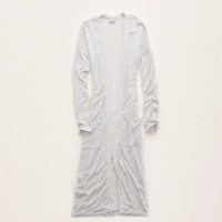 Aerie Lightweight Knit Duster , Silver Steel | Aerie for American Eagle