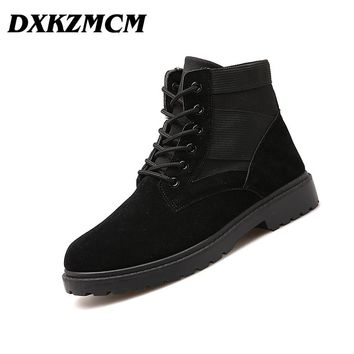 DXKZMCM 2017 Autumn Men boots Casual Tooling Boots