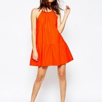 ASOS | ASOS Tiered Linen Sundress at ASOS