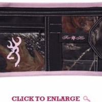 SPG's Browning Mossy Oak And Pink Visor Organizer