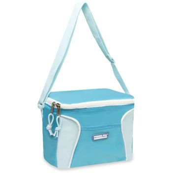 Schools In Awesome Blue and White Lunch Bags