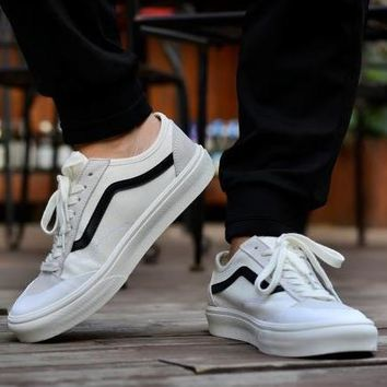 Trendsetter Vans Old Skool Casual Flat Sneakers Sport Shoes