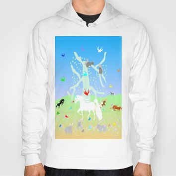 Unicorn Realm by Kat Worth Hoody by Kat Worth