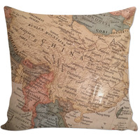 Global Travel Couch Pillow