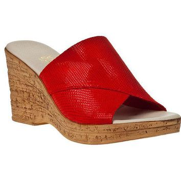 MDIGYW3 Onex Christina 2 Red Iguana Sandals