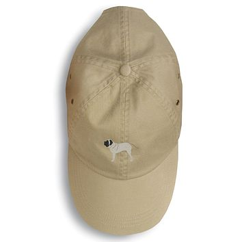 English Mastiff Embroidered Baseball Cap BB3456BU-156