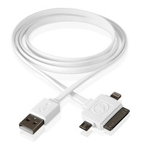 Outdoor Technology Calamari 3-In-1 Usb Charge Cable White One Size For Men 26440115001