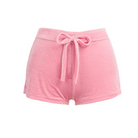 Plus Size Women Velvet Shorts Drawstring High Waist Shorts Sexy Elegant Mini Short Casual Skinny Short Mujer SM6