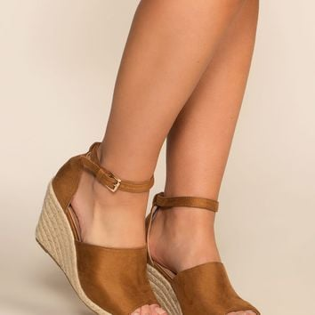 Soho Wedges - Tan