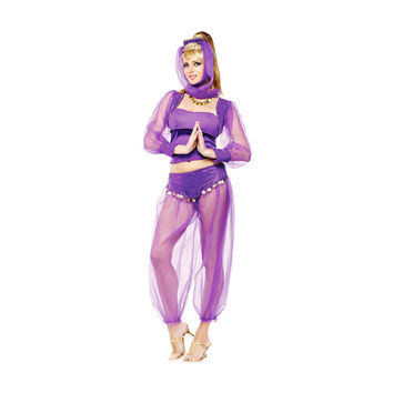 Morris Costumes Halloween Dreamy genie adult medium large 10-14