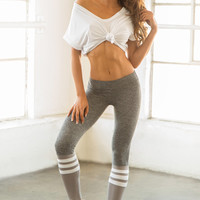 Sock Leggings - Gray / Gray