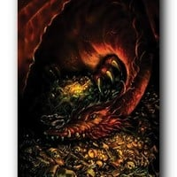 (24x36) The Hobbit Smaug Desolation Art Print Poster