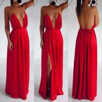 Maxi Gown Dress