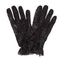 Buy John Lewis Short Lace Glove online at John Lewis