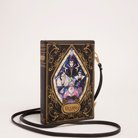 Disney Villains Stained Glass Book Clutch