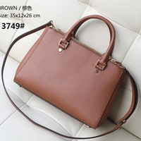 New Fashion Sutton Medium Saffiano Leather Satchel