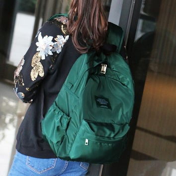 Fashion Nylon Women Backpack College Middle High School Bag For Teenager Girl Ladie Book bag Mochila Soft Daily bagpack