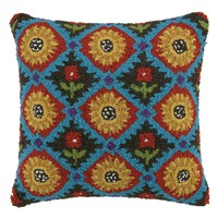 Coyote Blue Flower Pillow