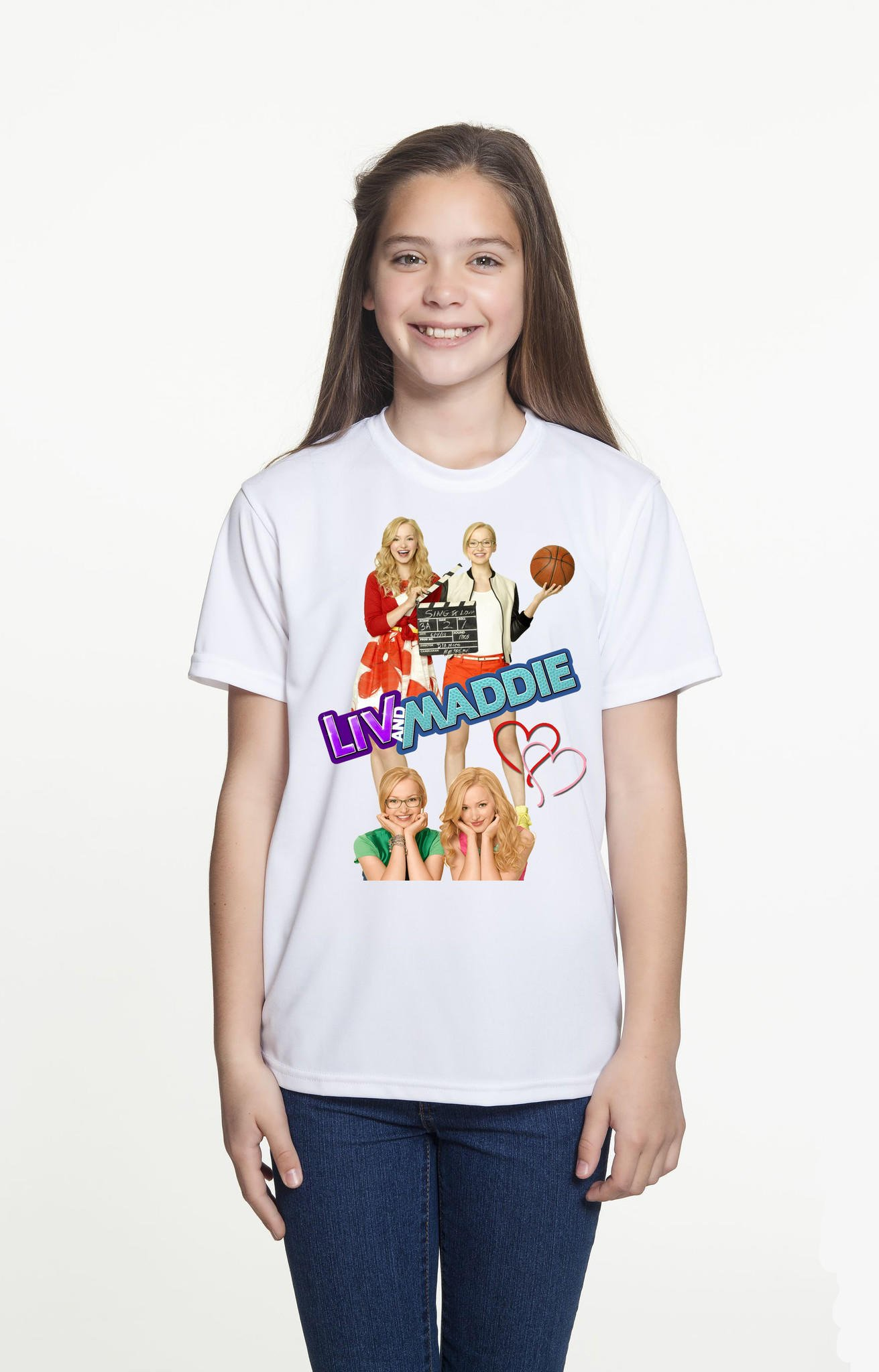 Brand New T Shirt Disney Liv And Maddie From I Need A