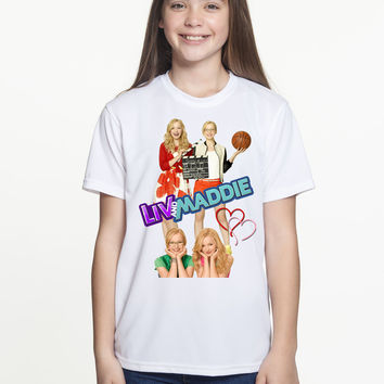 Brand New T-shirt Disney Liv and Maddie TV Show