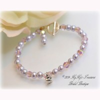 Personalized Flower Girl Bracelet, Little Girls Bracelet, Childrens Jewelry, Flower Girl Jewelry, Flower Girl Gift, Little Girls Pearl Bracelet, Swarovski Pearls