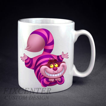 Alice in Wonderland Cheshire Cat Smile Personalized mug/cup