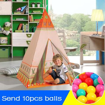 Portable Toy Teepee Play Tent